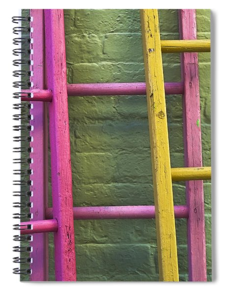 Spiral Notebook featuring the photograph Upwardly Mobile by Skip Hunt