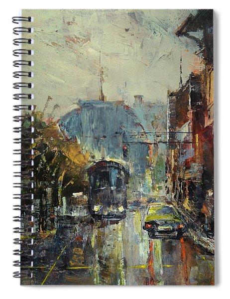 Urban Morning Spiral Notebook