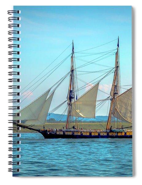 Us Brig Niagara Spiral Notebook