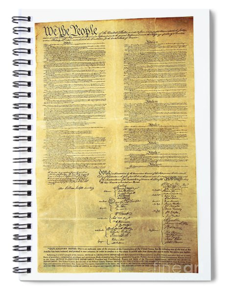 U.s Constitution Spiral Notebook