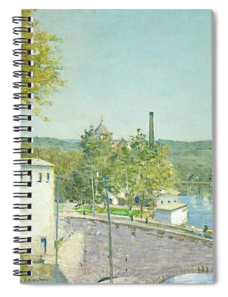 U.s. Thread Company Mills, Willimantic, Connecticut Spiral Notebook
