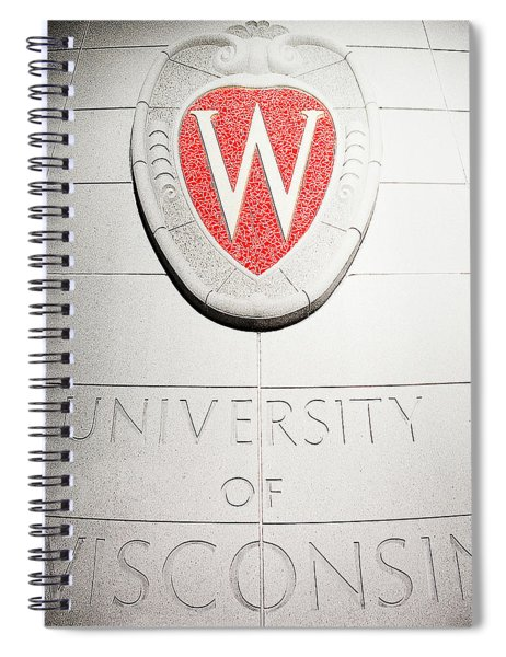Uw Crest Spiral Notebook
