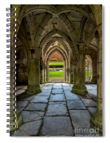 Valle Crucis Abbey  Spiral Notebook