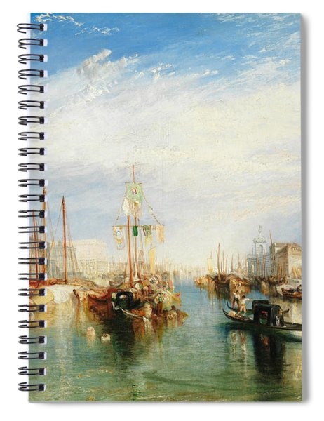 Venice, From The Porch Of Madonna Della Salute Spiral Notebook