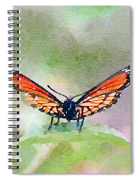 Viceroy Butterfly  Spiral Notebook