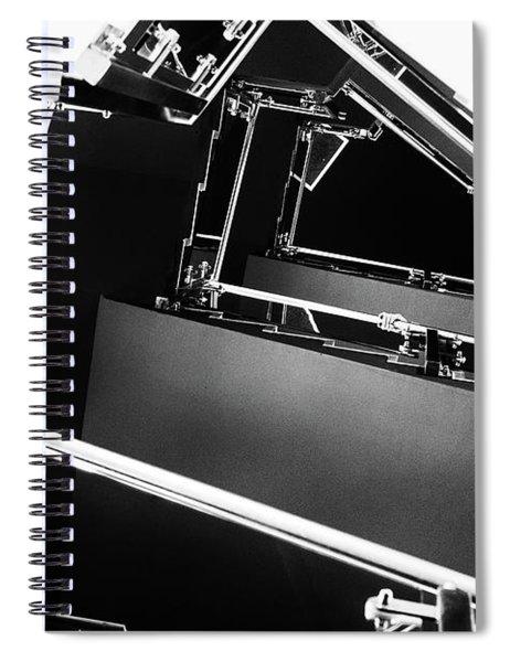 View From Below Spiral Notebook