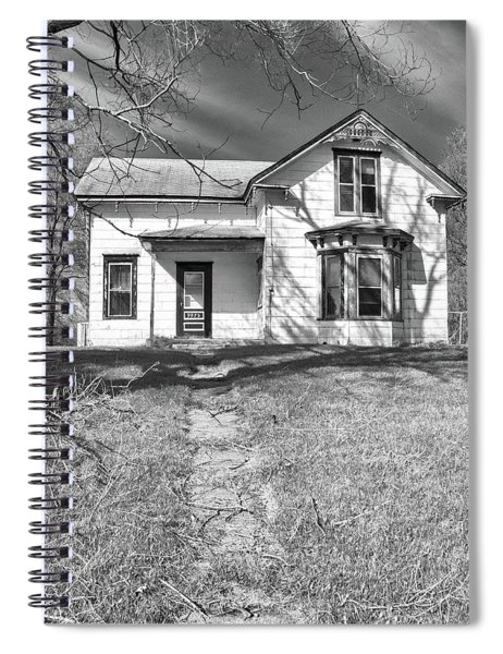 Visiting The Old Homestead Spiral Notebook