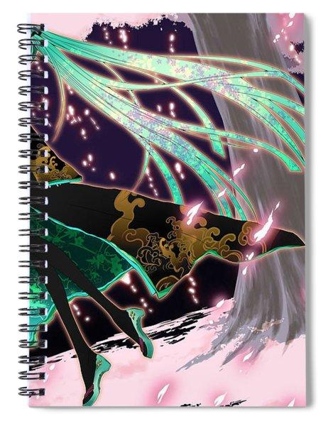 Vocaloid Spiral Notebook