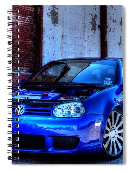Volkswagen R32 Spiral Notebook