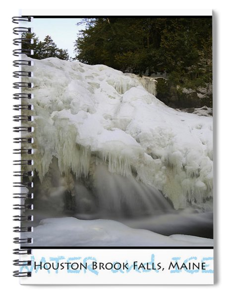 Water And Ice Spiral Notebook