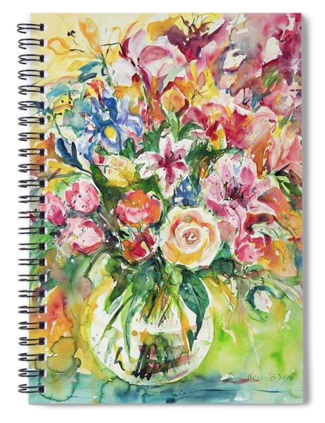 Watercolor Series 8 Spiral Notebook