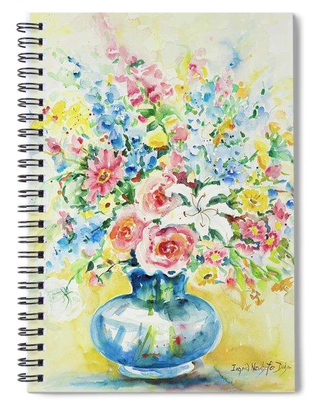 Watercolor Series 9 Spiral Notebook