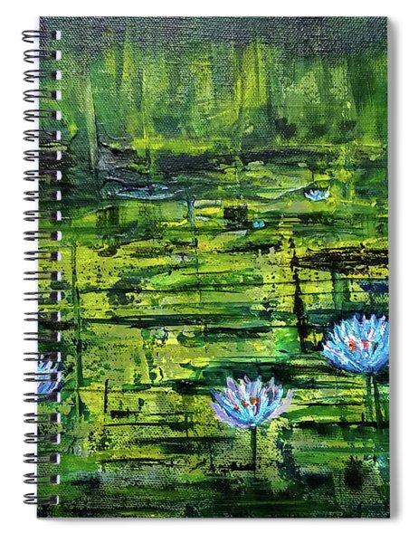 Waterlilies Spiral Notebook