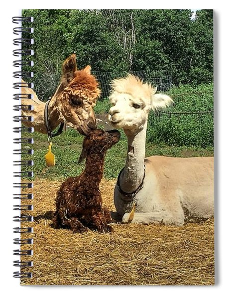 Welcome To The World Spiral Notebook