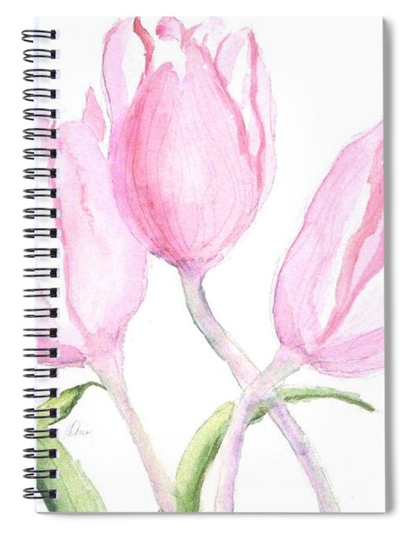 Whispers Of Spring Spiral Notebook