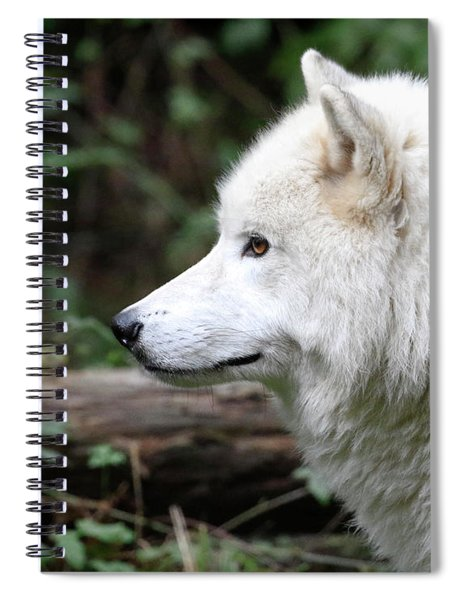 White Wolf Forest Spiral Notebook