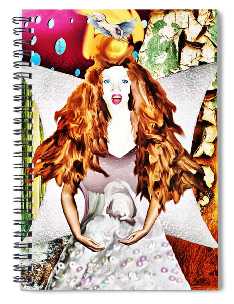 Whitout Title Spiral Notebook