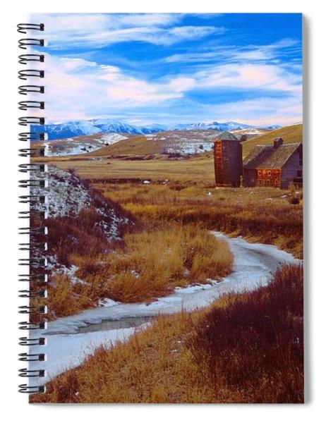 Willow Creek Barn Spiral Notebook