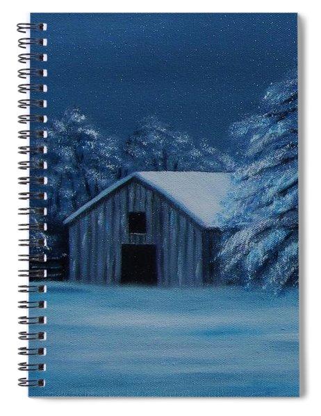 Windburg Barn 2 Spiral Notebook