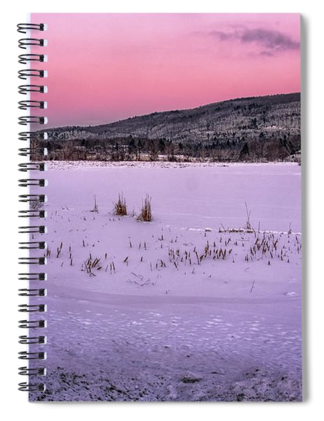 Winter Meadows Spiral Notebook