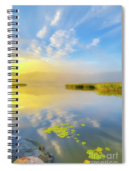 Wonderful Morning Spiral Notebook