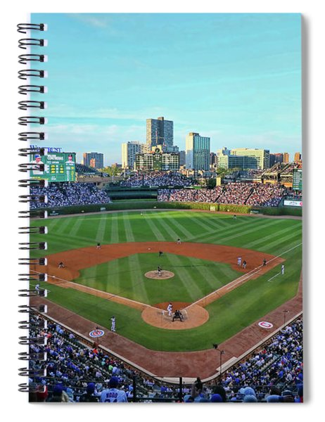 Wrigley Field - Home Of The Chicago Cubs # 5 Spiral Notebook