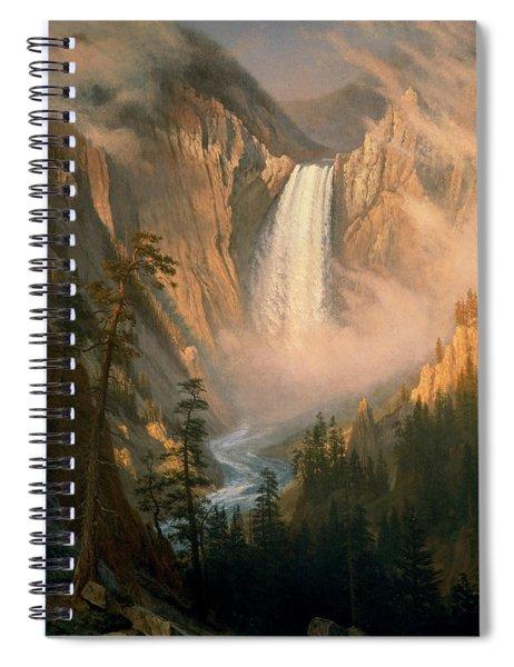 Yellowstone Falls Spiral Notebook