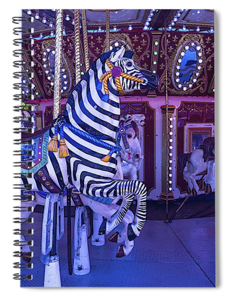 Zebra Ride Spiral Notebook