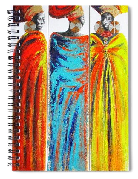 Zulu Ladies 2 Spiral Notebook