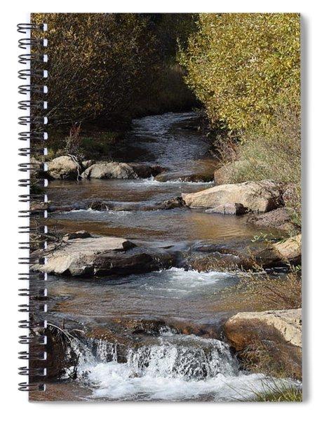 Waterfall Westcliffe Co Spiral Notebook