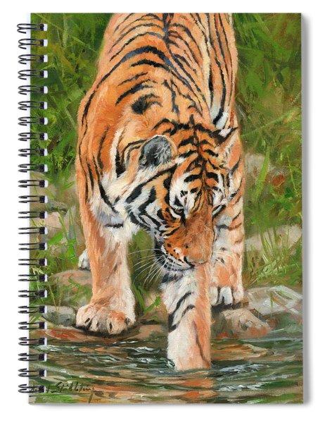 Amur Tiger Spiral Notebook