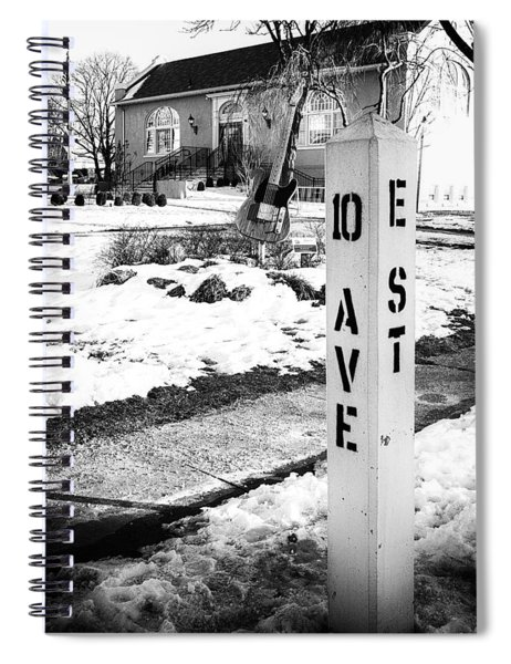10 Ave And E St Belmar New Jersey Spiral Notebook
