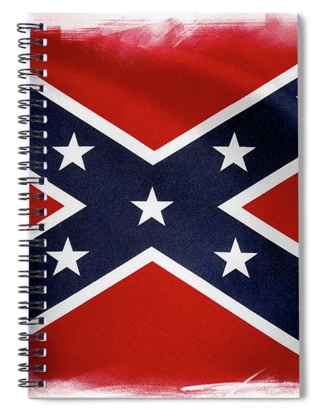 Confederate Flag 10 Spiral Notebook