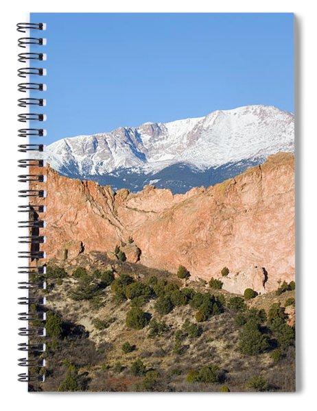 Pikes Peak Spiral Notebook