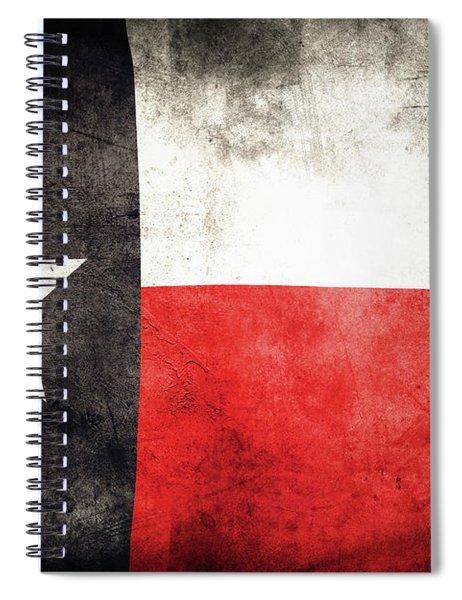 Texas Flag 1 Spiral Notebook