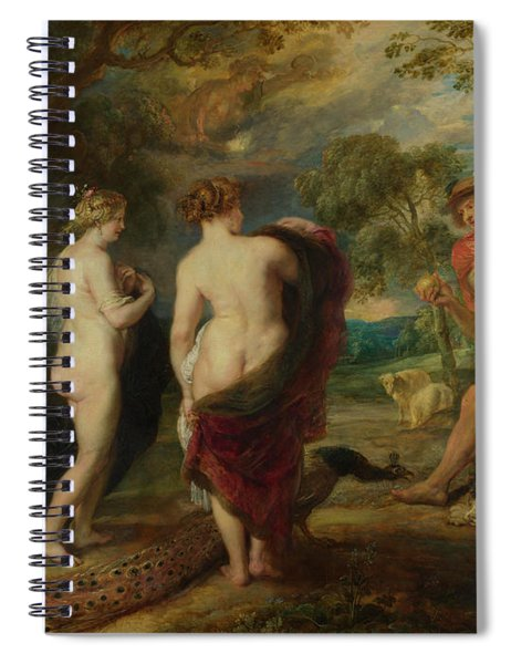 The Judgement Of Paris Spiral Notebook