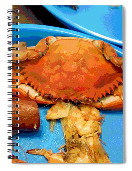 101516 Crab Boil Spiral Notebook