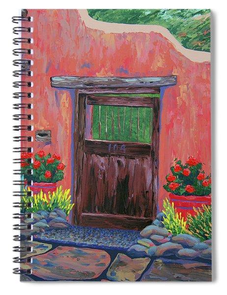 104 Canyon Rd, Santa Fe Spiral Notebook