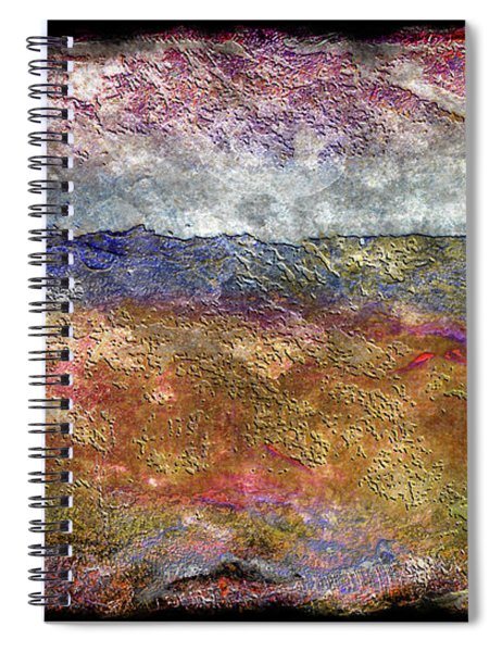 10c Abstract Expressionism Digital Painting Spiral Notebook