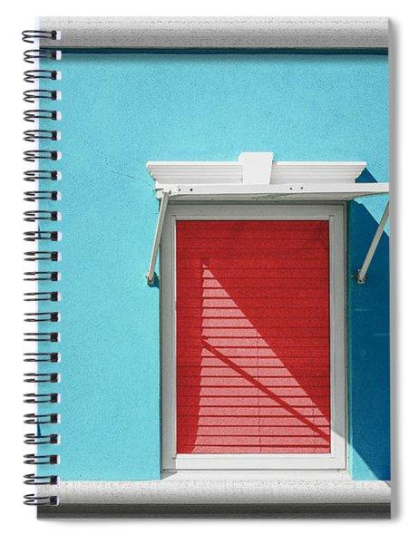 11 O'clock Shadow Spiral Notebook