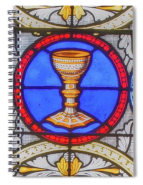 Saint Anne's Windows Spiral Notebook