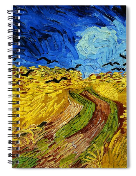 Wheatfield With Crows Spiral Notebook