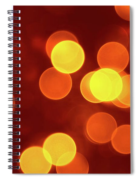 Abstract Circles 19 Spiral Notebook