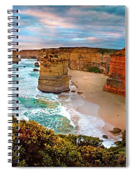 12 Apostle Sunset Spiral Notebook