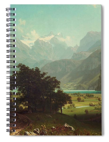 Lake Lucerne Spiral Notebook