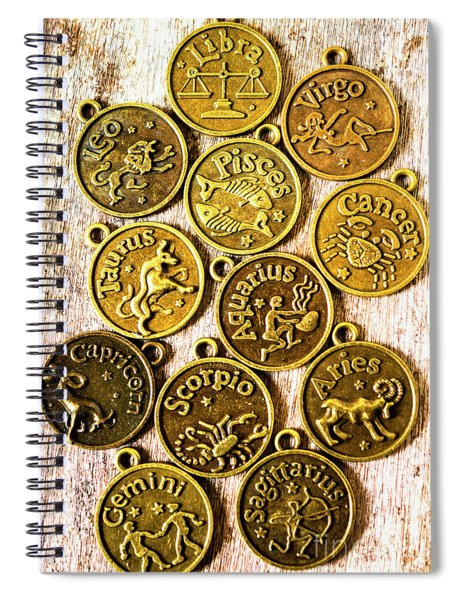 12 Wonders Of The Zodiac  Spiral Notebook