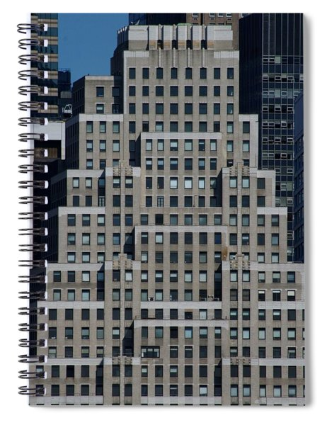120 Wall Street Nyc Spiral Notebook