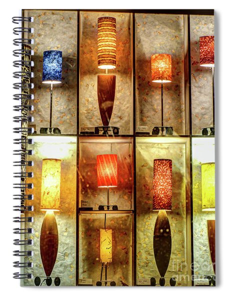 1221b Lincoln St. Spiral Notebook