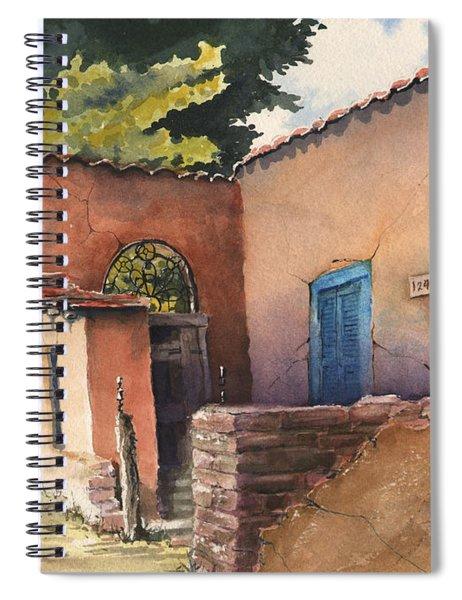 1247 Agua Fria Street Spiral Notebook
