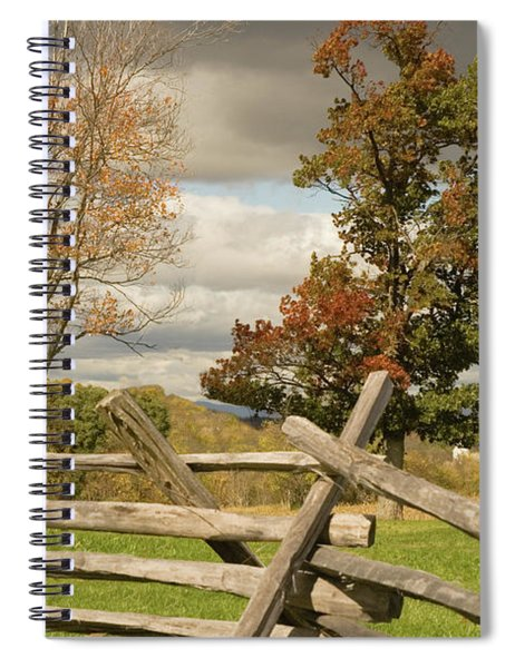 124th Pennsylvania Infantry Monument Spiral Notebook